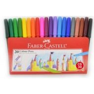 FABER CASTELL  水彩筆 (20色)  Water Colour Marker