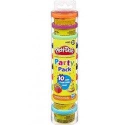 PlayDoh 培樂多 Party Pack In Tube 培樂多10色派對組