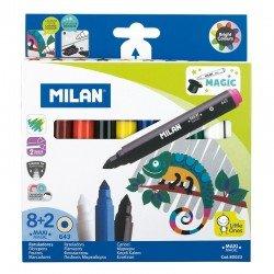 Milan 西班牙品牌 8+2 變色龍水彩筆