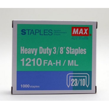 MAX 桌上型釘書機針 1210FA-H ML heavy duty staples
