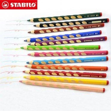 Stabilo EASYcolors L Handers 12色 德國鵝仔牌 洞洞筆 人體工學左手幼兒專用木顏色筆