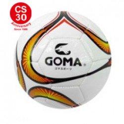 GOMA足球 4號橙片花紋足球