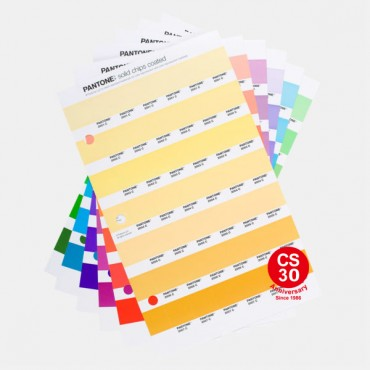 Pantone Solid Chips Plus Series Loose Sheet 紙版散張